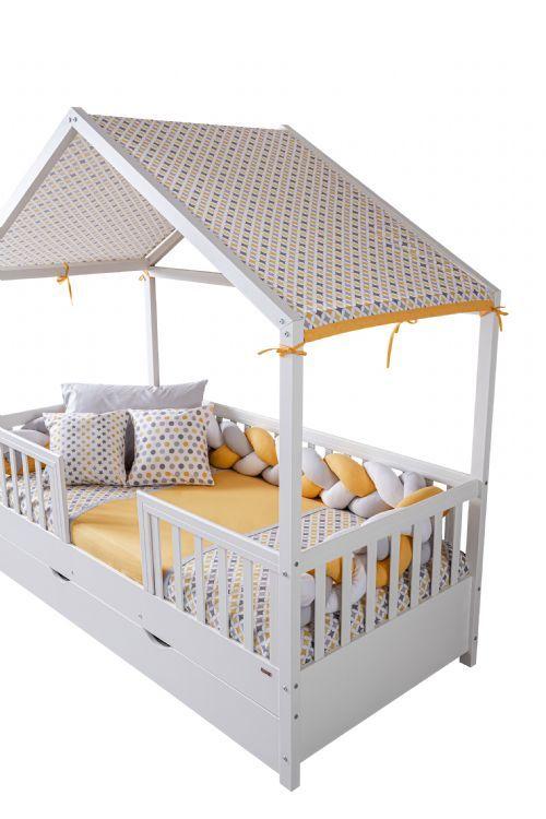 Rock Koton Kumaş Çatı Tentesi (Bonnie, Sienna, Tody Uyumlu) Sarı